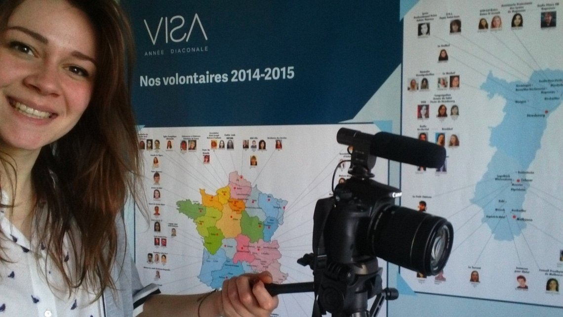 Interview de Justine, volontaire