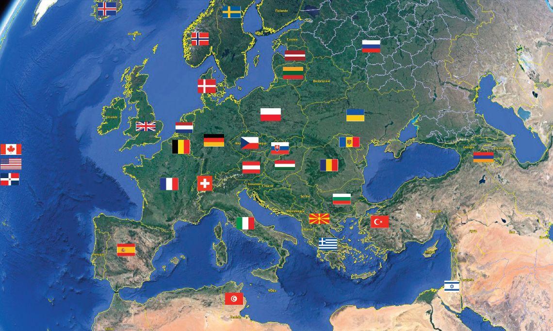 Carte volontariat international