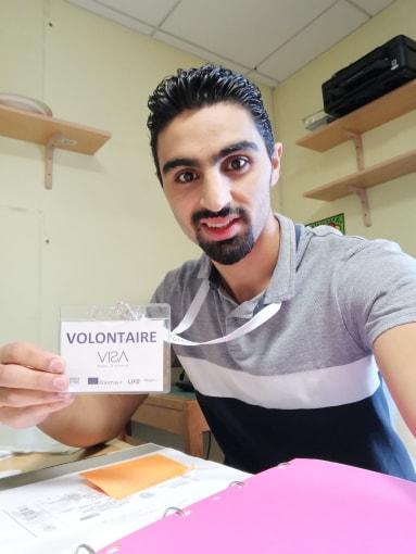Yazen en Service Civique